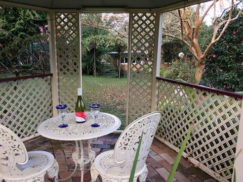 Garden getaway close to Lismore and Bangalow.