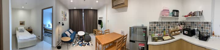 VINHOMES OCEAN PARK - HOMESTAY SMILE - Triple room