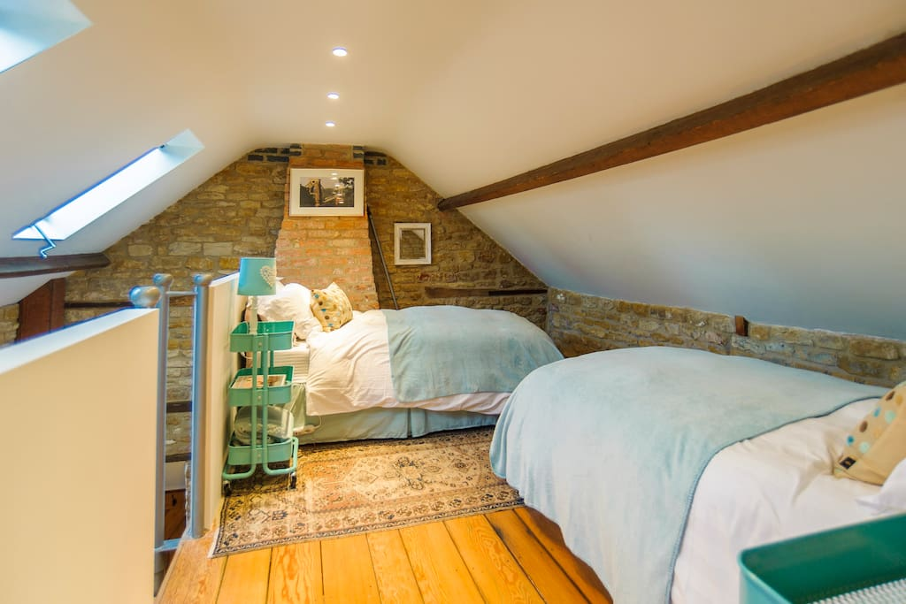 A fun twin room, perfect for children & adults alike