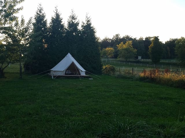 The Tent at Chestnut Hill Farm