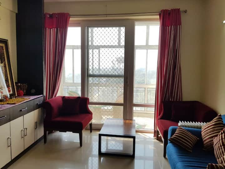 Fully furnished 1BHK apartment in Koshda Mandakini
