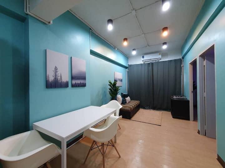 Loft style condo next to bumrungrad hospital