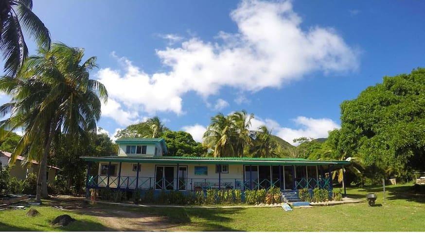 Casa, isla de providencia Colombia .