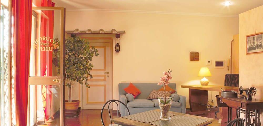 B&B Borgo Vigna Ferri - Frascati - Bed & Breakfast