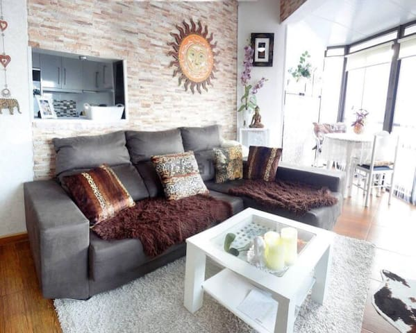 One-bedroom apartment by the park, near the sea