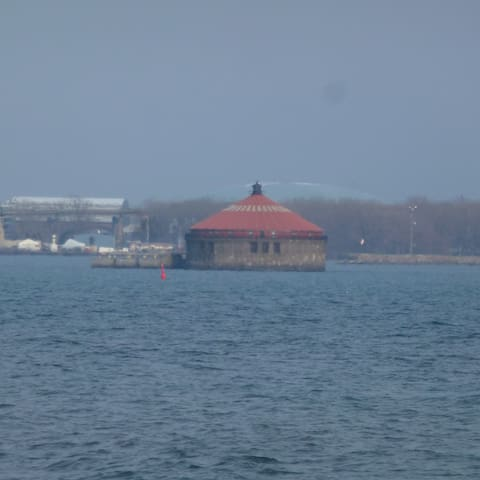 Martello Hut on the Lake