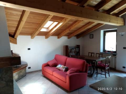 Appartamento in zona tranquilla a 3,5 km da Aosta
