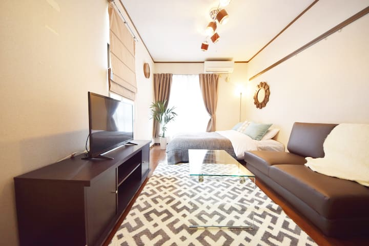 Near Shinjuku! Okubo station 3 mins!#AS207 - Shinjuku-ku - Apartment