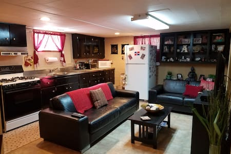 Clean & cozy basement apartment, 10 min to JFK - Valley Stream - Hus