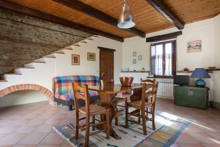 The countryhouse in Panicale