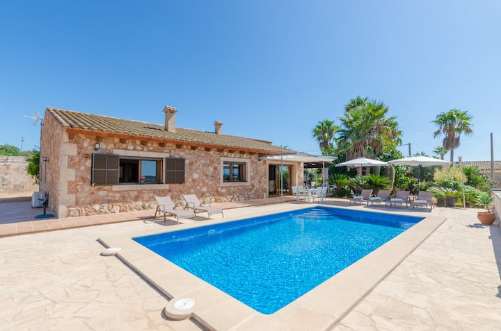 SA MARINA (MARINA DES TORRENT) - Villa with private pool in ses Salines. Free WiFi