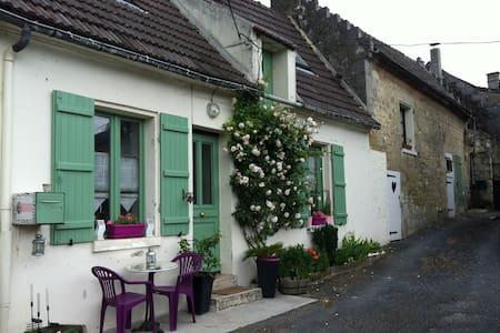 Maison de charme à 15mn de Soissons - Maast-et-Violaine - Rumah