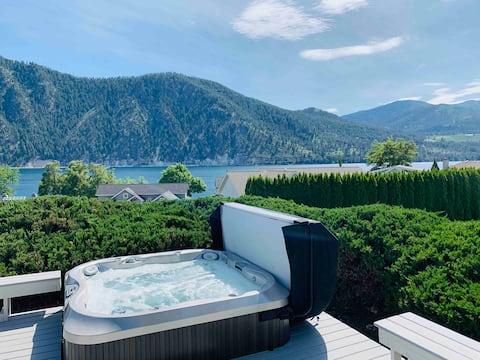 溫馨的Wapato Point全年泳池/私人溫泉浴池