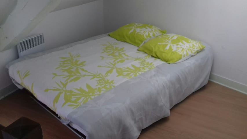 Le lit de la deuxième chambre