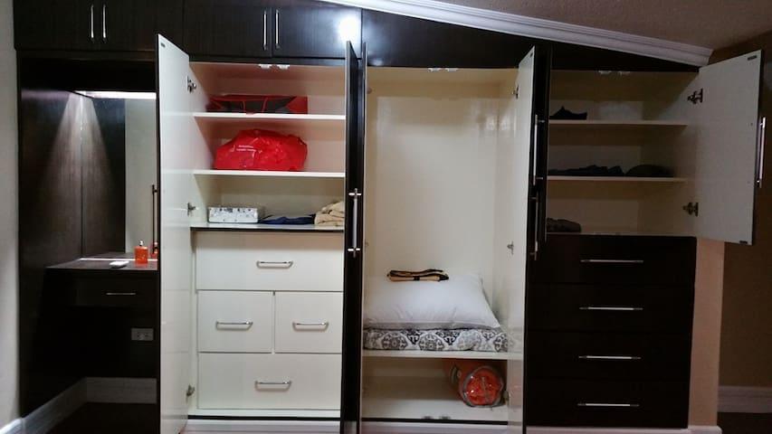 Built in closet