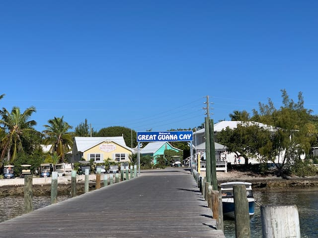 Welcome to Great Guana Cay!!