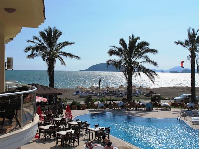 LH14 Sunset BeachClub Fethiye'de 3+1kiralık yazlık - Fethiye - Casa