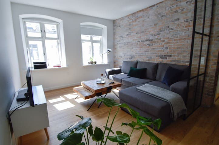 Cozy New Yorker Apartment in the Heart of Hillerød