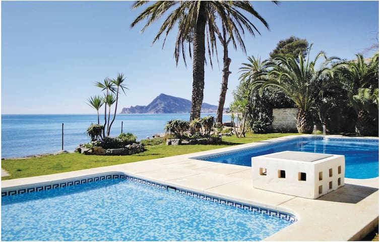Holiday apartment with 2 bedrooms on 75 m² in Altea