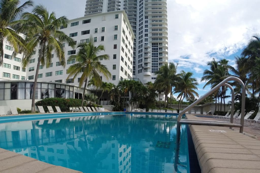 Pool access included (others charge resort fee)