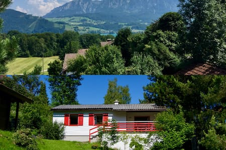 Sommer & Winter am Attersee - See- und Bergblick