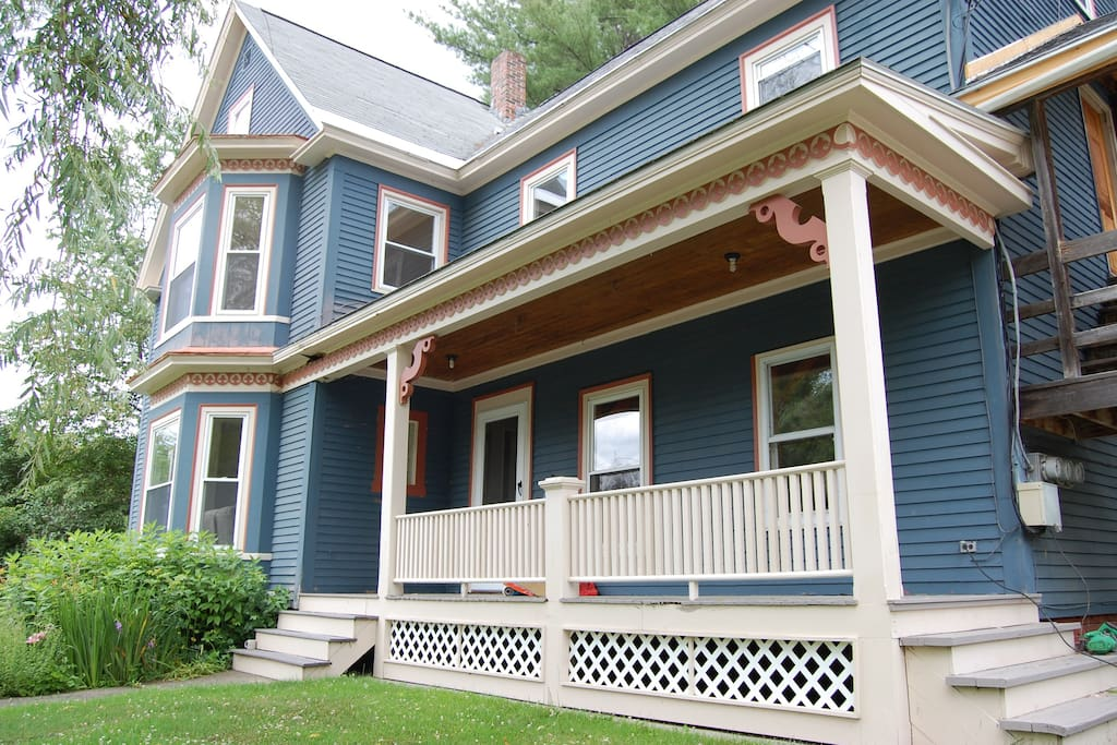 Beautiful Victorian New England Charm: lower unit townhouse