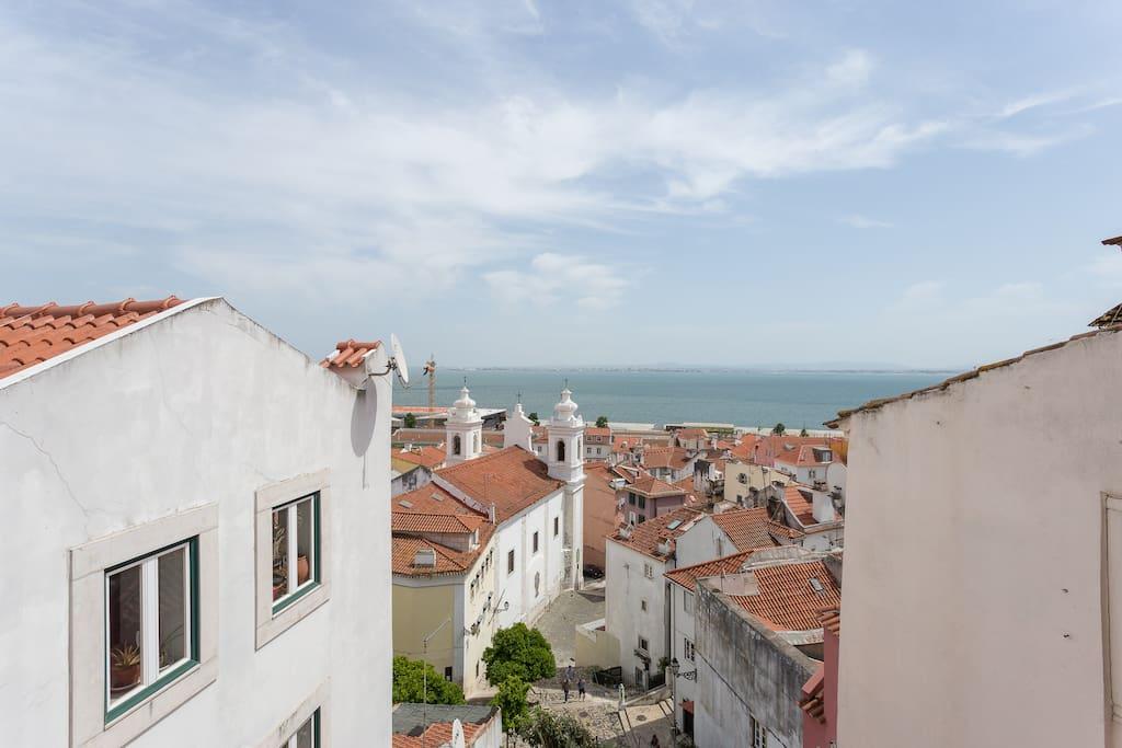 Una vista inolvidable sobre el rio tajo apartamentos en alquiler en lisboa lisboa portugal - Apartamentos en el algarve ...