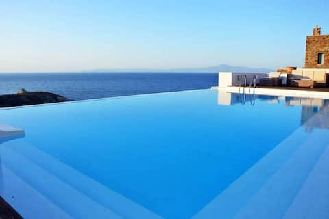 Kea Villa Pool & Seaview