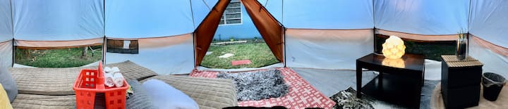 Magical Tent house near Beaches W/ Breakfast