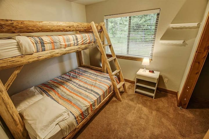 Guest Room with Twin over Queen Bunk