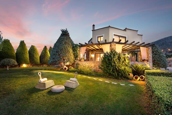 Golden Crest Villa - Luxury villa at Hersonisos