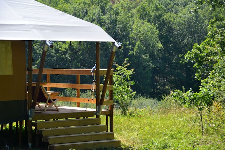 """2 person Glamping Lodge (""""Palm Lodge"""")"""