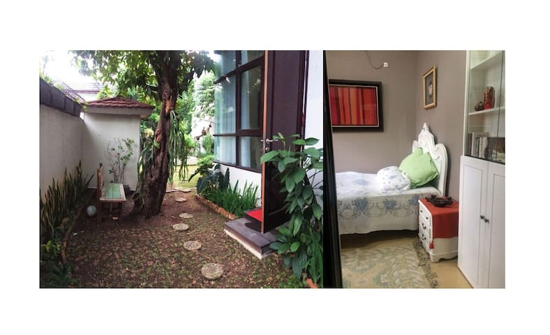 Private Central Jakarta cozy bedroom ★ own gate