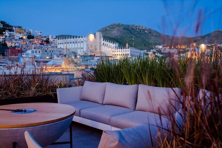 Habitación Estándar#14 Antigua Trece Hotel Fusión