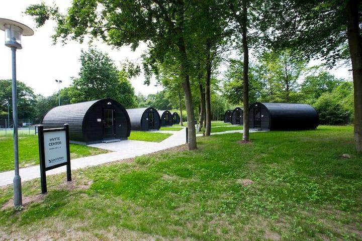 Natursuite i Sportspark Blaavandshuk (8-pers.)