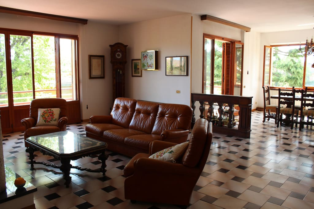 Il grande salone - Livingroom