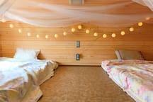 Lovely loft to sleep! ロフトはお子様にもぴったりです!