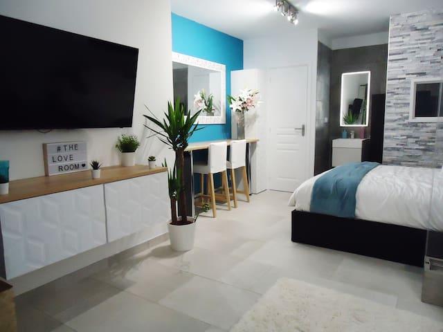 Appartement indépendant avec terrasse de 60m2