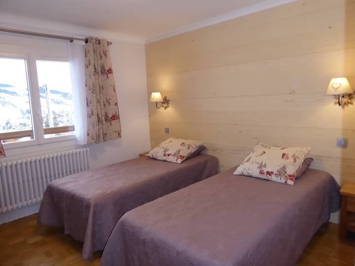 EDELWEISS 2 bedrooms for 4/5 people