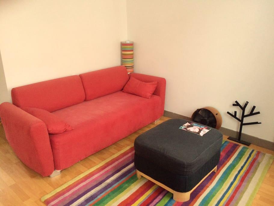 Salon - canapé lit 1 place
