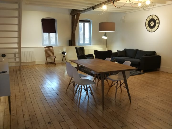 Appartement Loft Zola Dijon centre historique