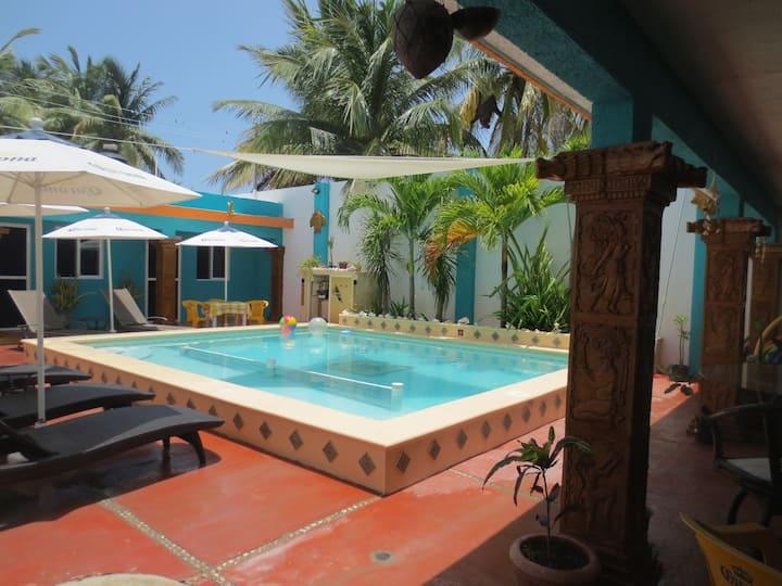 Beach Living in a Mexican village!