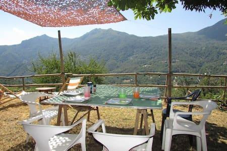Maison de village avec très belle vue dégagée - Valle-d'Alesani