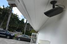 8 Outside Security Cameras & Alarm System