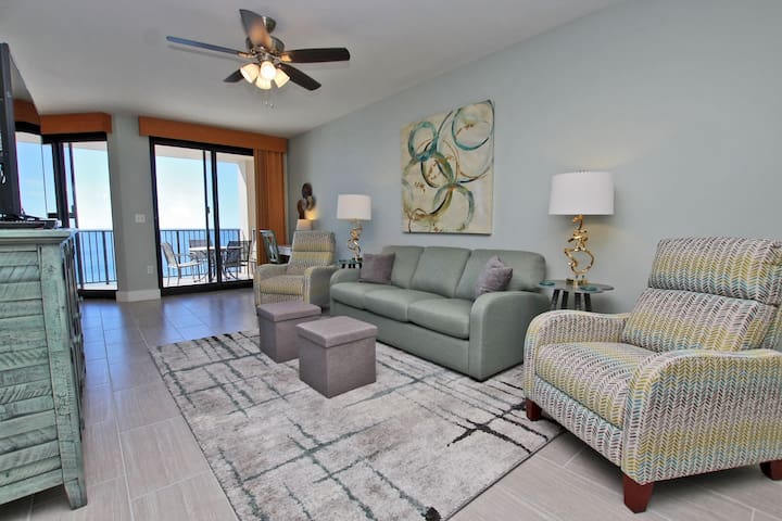 Phoenix X 1208 - Next door to the Infamous Flora-Bama! Watch the Mullet Toss from your balcony! Indoor Pool, Outdoor Pool with Bridge, Grilling Area, Fitness Room, and More!  Right on the Beach!