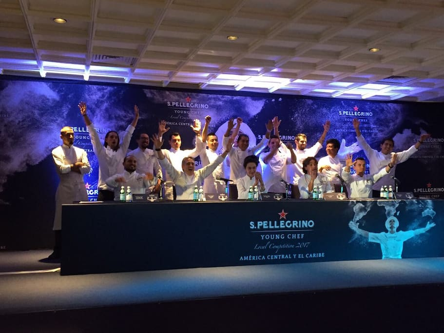As a CHEF,  he got semifinals in of the biggest culinary competitions worldwide! San Pellegrino YOUNG CHEF 2017