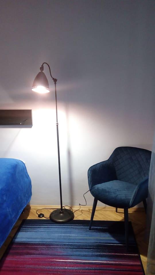 Bedroom lights for a book lover