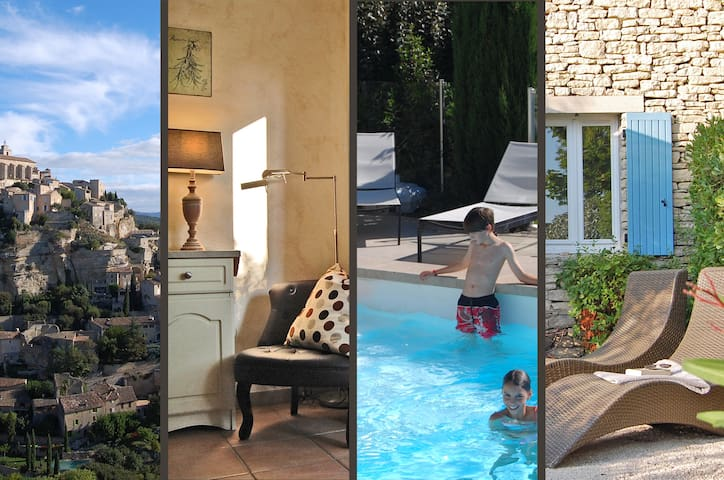 Gordes - apart. with pool - Luberon - Gordes - Appartement