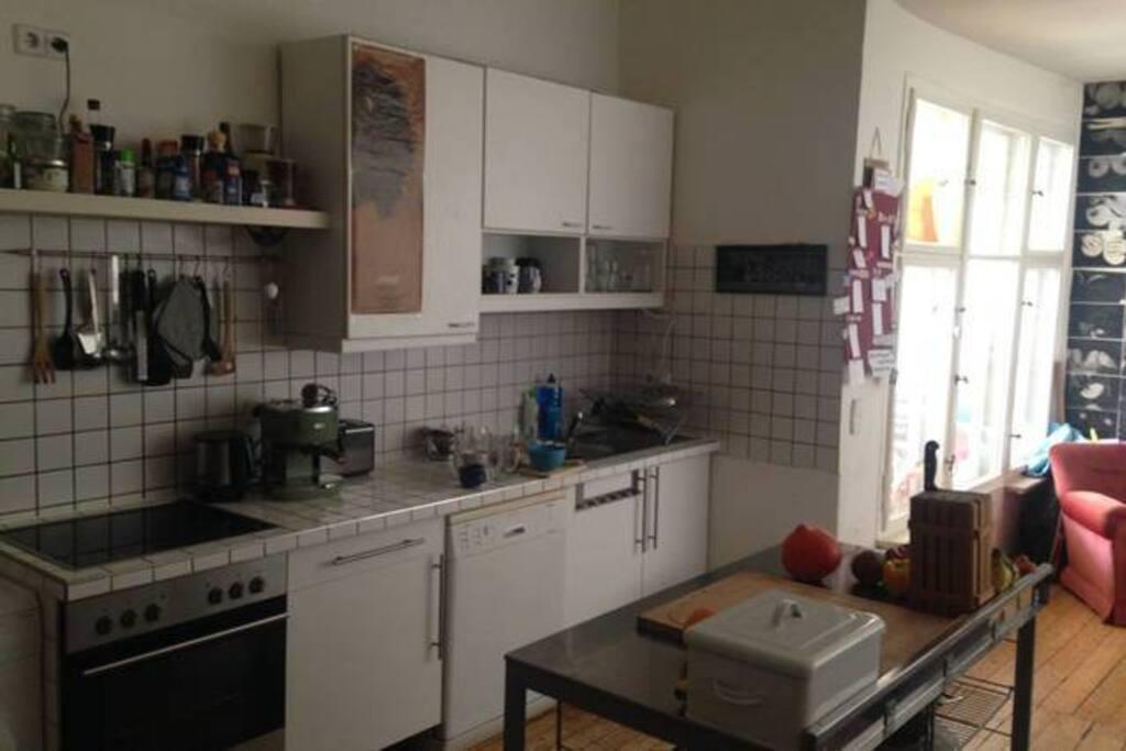 The Livingroom/Kitchen