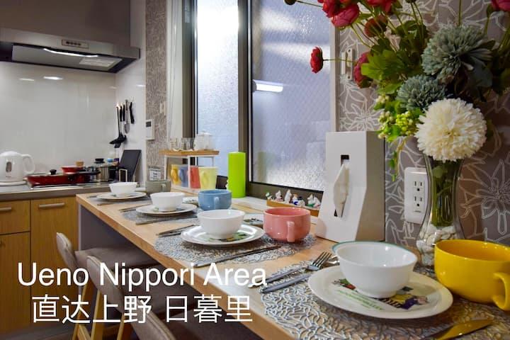 ☆☆Moomin house201☆☆2 mins from Station姆明家站前2分钟